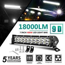 7 INCH 400W Led Light Bar Super Bright Dual Row Spot Beam Pickup Truck UTV ATV
