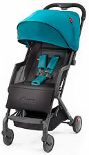 Diono Traverze Plus Lightweight Compact Fold Baby Travel Stroller Teal with Bag