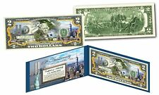 WORLD TRADE CENTER 9/11 WTC 15th Anniversary Colorized US $2 Bill FREEDOM TOWER