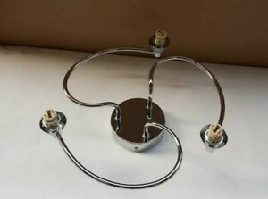 The Lighting Collection -Ceiling Light Chrome 3 Bulb Holders -700445 (Base ONLY)