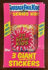 Garbage Pail Kids Series 1 Giant Box, 31/36 Packs w/ 2-NASTY NICK, & 1-ADAM BOMB