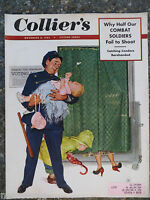 1952 November 8 Colliers Magazine  Birney Lettick Cover  VINTAGE ADS