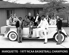 Marquette Warriors - 1977 NCAA Basketball Champions, 8x10 B&W Team Photo