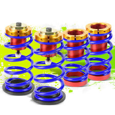 """4PCS BLUE SPRING 1""""-4"""" SUSPENSION COILOVER KIT REPLACEMENT FOR 12-15 HONDA CIVIC"""