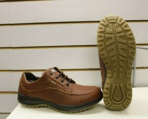 Grisport Livingston Tan Leather Active Leisure Walking Shoes UK 9 EU 43 Italy