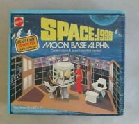 VINTAGE SPACE 1999 MOON BASE ALPHA CONTROL ROOM & LAUNCH MONITOR CENTER SEALED