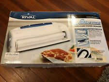 Rival Seal-A-Meal VS110 Food Storage System no freezer burn SEAL MEAL