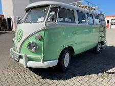 VW T1 Bus Bulli grün Super Restaurationsbasis 1965 Made in Germany