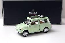 1:18 Norev Fiat 500 Giardiniera 1962 light green NEW bei PREMIUM-MODELCARS