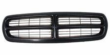 CH1200200, New Grille Assembly-Black Shell Black Insert, For Dodge Dakota, 97-04