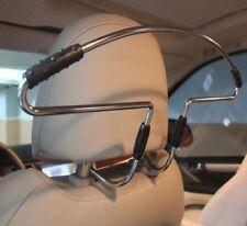 CAR SEAT COAT HANGER HEAD REST METAL CLOTHES JACKET SUIT SHIRT GARMENT AC43