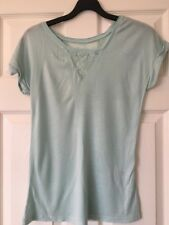 Warehouse Pale Green Top With Lace - 6