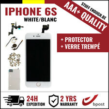 AAA+ LCD SCREEN SCHERM ÉCRAN ASSEMBLY WHITE BLANC + VERRE TREMPÉ FOR IPHONE 6S