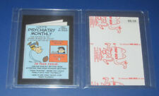 2017 WACKY PACKAGES 50TH ANNIVERSARY RED LUDLOW LUCY'S PSYCHIATRY MONTHLY #/25
