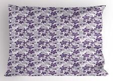 Garden Art Pillow Sham Decorative Pillowcase 3 Sizes for Bedroom Decor