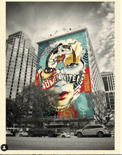 Sandra Chevrier X Shepard Fairey Beauty of Liberty and Equality
