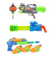 NEW Large Water Gun Machine Cannon Super Soaker Pistol Pump Summer Bazooka Party