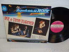 IKE & TINA TURNER La Grande Storia Del Rock LP Curcio GSR 36 (1981) Italy NM