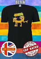 CATDOG Cat Dog Cartoon Funny TV Series Men Women Unisex T-shirt 3756