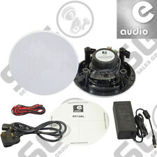 "E-Audio Bluetooth Speaker Kit (Master and Slave) Moisture Resistant 5.25"""