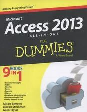 Access 2013 All-In-One for Dummies (Paperback or Softback)