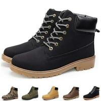 Mens Work Safety Shoes Leather Boots Hard Toe Cap malleolus Boots Trainers Cheap