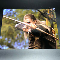 LORD OF RINGS HOBBIT PHOTOGRAPH PICTURE Orlando Bloom Legolas bow arrow LOTR elf
