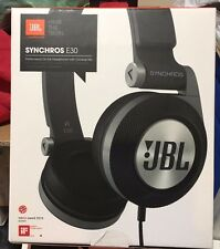 JBL Synchros E30  Performance On-ear Headphones With Universal Mic Black
