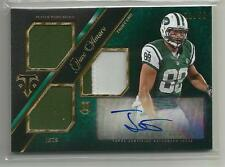 2014 Triple Threads Football Jace Amaro Jersey Patch Auto Rookie Card # 11/50