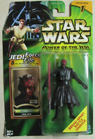 Star Wars Power of the Jedi Action Figure- Darth Maul Final Duel - Break-Apart