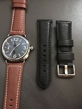 MARINA MILITARE 45mm 6497 MM12 Watch Polished Stainless Steel (2) Leather Straps
