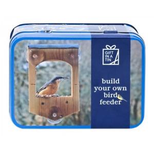 Build Your Own Bird Feeder in a Tin