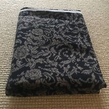 3m x 150cm brown & black floral pattern stretch heavy weight fabric sewing
