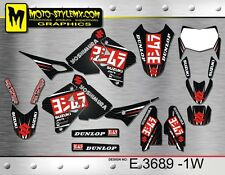 Moto StyleMX graphics decals kit Suzuki DRz 400 1999 up to 2015 stickers