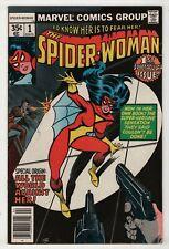 Spider-Woman #1 VF 8.0 high grade new origin & mask 1978 create-a-lot & save
