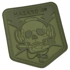 More details for hazard 4 operator schädel moral patch tactical airsoft militär olivgrün