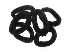 Medium Black Ponios Hair Elastics Hair Bands Hair Accessories