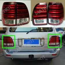 Rear Tail Lights For Lexus LX470 2003-2005 LED Type 1Set 4pcs 22cm Red White