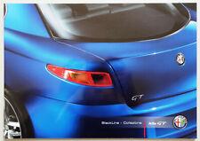 V13126 ALFA ROMEO GT BLACKLINE COLLEZIONE - CATALOGUE - 11/07 - A4 - B FR