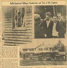 4-1934 April 24 DILLINGER Kill Dillinger on Sight is U.S. Plan in Chase. B16