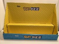Funko Pez Display - NO PEZ INCLUDED - Display Shelf for Funko Pez Products NEW