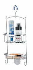 Uniware Chrome Plated Shower Caddy For Bathroom, Silver