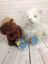 Two Unused Codes Ganz Webkinz Cares WHITE CAT Lil' Kinz HORSE Rare Retired