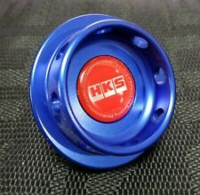 HKS Engine Oil Fuel Filler Cap Cover Billet Blue For Honda Civic Accord S2000