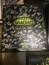** SIGNED ** World of Warcraft LEGION Collector's Edition -NEW * incl GLENN RANE