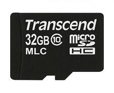 32 Go Carte Micro SDHC Transcend de la série de Calibre Industrielle 10M