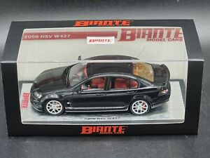 1:43 Biante HSV VE W427 Commodore in Phantom Black Only 427 made.
