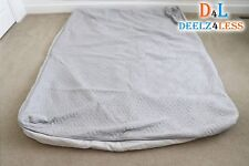 Used Select Comfort Sleep Number Queen Size M7 Model Duvet Cover Top & Bottom