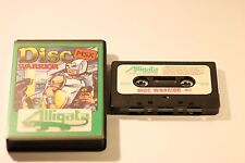 RARE SONY MSX GAME DISC WARRIOR BY ALLIGATA 1984 CASSETTE GAME (UK)