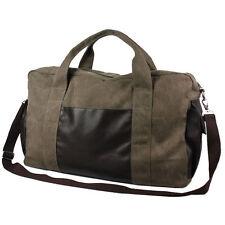 35L Canvas Travel Luggage Shoulder Bag Weekend Overnight Bag DUFFLE BAG Suitcase